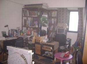 Keadaan bilik saya selepas kebakaran. memang bersepah.(terus lari keluar selepas dapat tahu ada kebakaran)